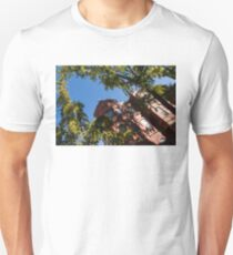 Framing the Ornate Pink House - Washington, DC Dupont Circle Neighborhood  T-Shirt