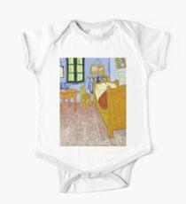 1889-Vincent van Gogh-Van Gogh's Bedroom in Arles-57x74 One Piece - Short Sleeve
