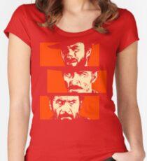 Blondie, Angel Eyes, Tuco Women's Fitted Scoop T-Shirt