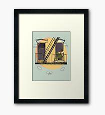 Jazzy Sunrise Framed Print