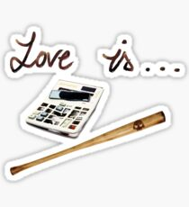 Bully and Nerd - Love is Bujeet Sticker