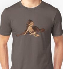 Ymir and Christa - Borzoi and Saluki Unisex T-Shirt