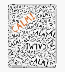 calm! iPad Case/Skin