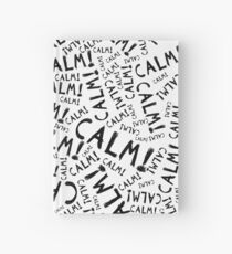 calm! Hardcover Journal
