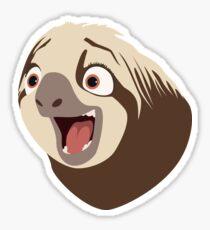 Sloth flash Sticker
