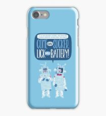 Flight of the Robots iPhone Case/Skin