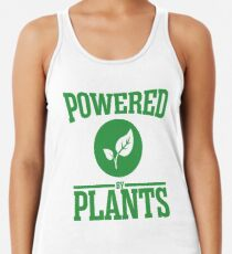 Angetrieben von Pflanzen Racerback Tank Top