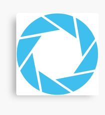 Aperture Science (Blue) Canvas Print