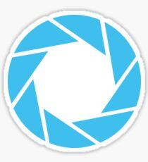 Aperture Science (Blue) Sticker