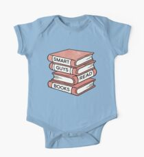 Smart Guys Read Books - book lover gift inspirational quote One Piece - Short Sleeve