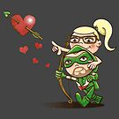 Shot Through The Heart: Olicity by DoodleHeadDee