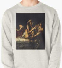 Sudadera sin capucha Judith Slaying Holofernes por Artemisia Gentileschi
