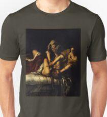 Judith Slaying Holofernes by Artemisia Gentileschi Unisex T-Shirt