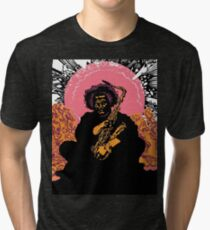 Kamasi Washington Tri-blend T-Shirt