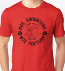 MGS Cardboard Box Factory T-Shirt