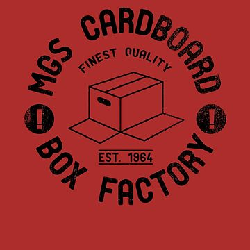 MGS Cardboard Box Factory by DeadRight