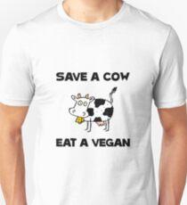 Save Cow Vegan T-Shirt