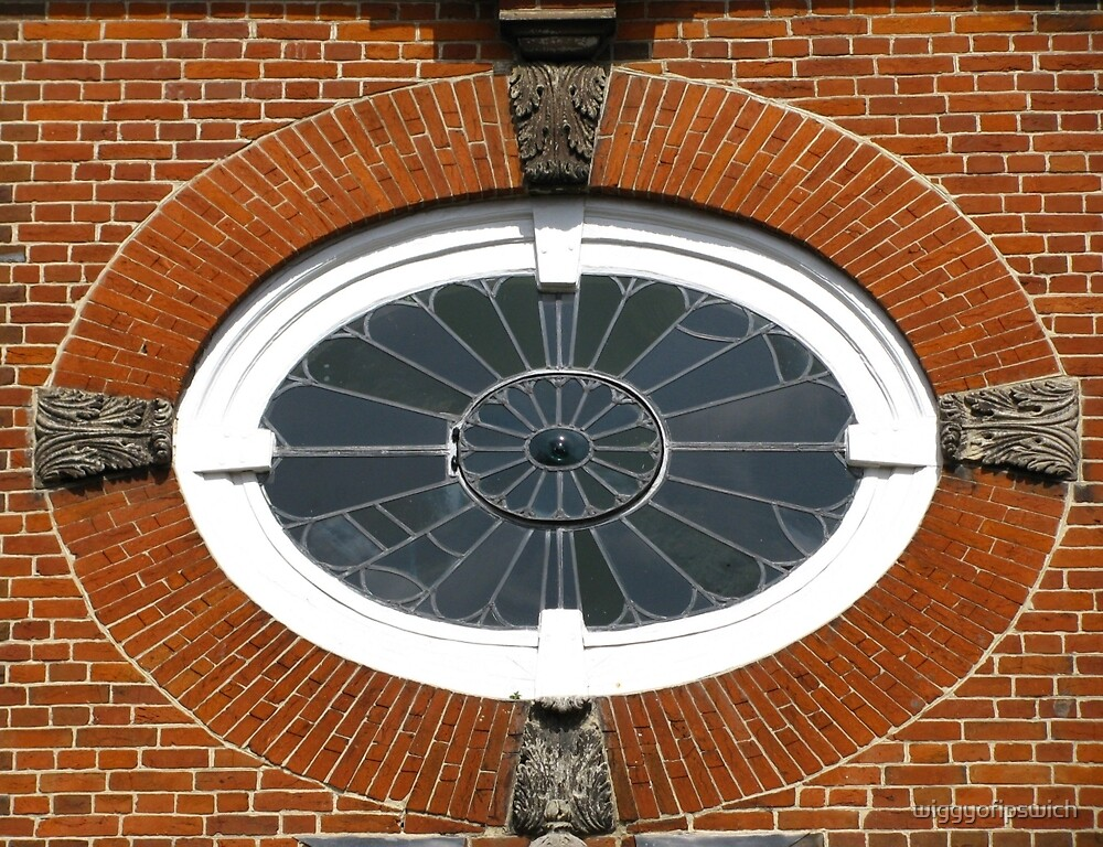 Unitarian Window, Bury St Edmunds by wiggyofipswich