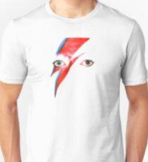 David Bowie Aladdin Sane Lightning Bolt T-Shirt