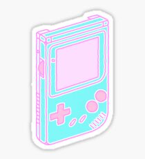 Blue Gameboy Sticker