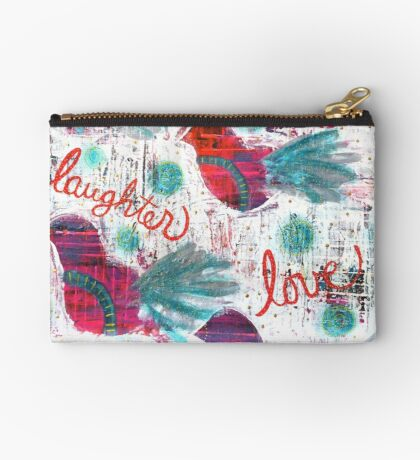 Fun Laughter Love Honesty... Just BE. Studio Pouch