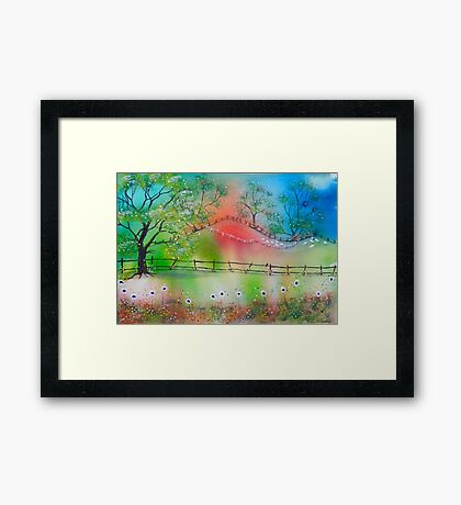 Summer Meadows Framed Print
