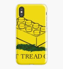 dont tread on legos iPhone Case/Skin