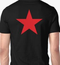 Red Star, STAR, Stardom, Power to the people! Red Dwarf, Stellar, Cosmic, on BLACK T-Shirt