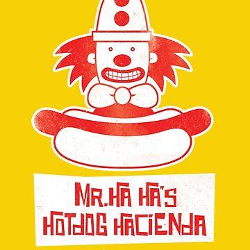 Mr. Ha Ha's Hotdog Hacienda by kevko76