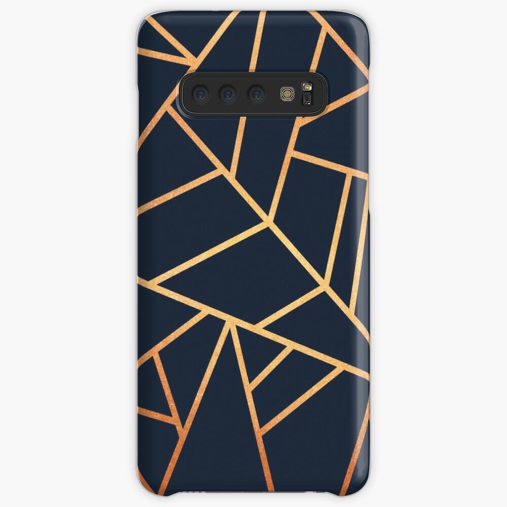 Kupfer und Midnight Navy Hüllen & Klebefolien für Samsung Galaxy