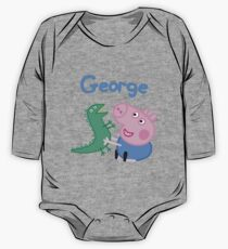 George Pig One Piece - Long Sleeve