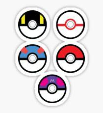 Original Pokeball Set Sticker