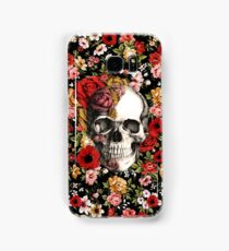 In bloom floral skull Samsung Galaxy Case/Skin