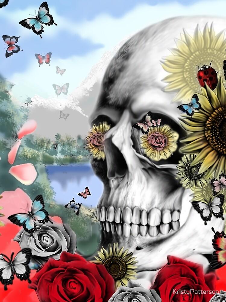 Nature skull landscape by KristyPatterson