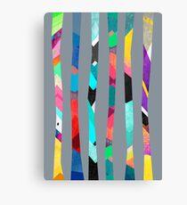 Trees / Grey Canvas Print