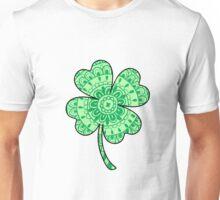 Mandala Four Leaf Clover Unisex T-Shirt