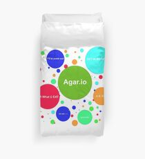 Agario assortment of nicknames Duvet Cover