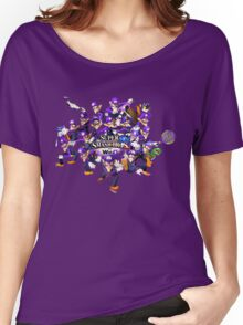 Super WAH Bros. Women's Relaxed Fit T-Shirt