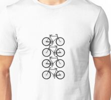 Bicycles Cell Phone Case Unisex T-Shirt