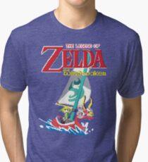 Pixel Windwaker Tri-blend T-Shirt