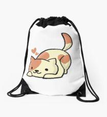 Peaches ( Neko Atsume ) Drawstring Bag
