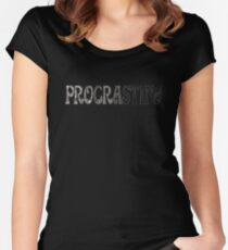 Procrastina... Women's Fitted Scoop T-Shirt