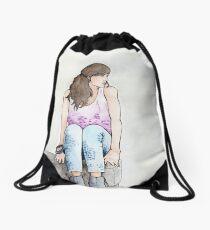 Punky Géraldine Drawstring Bag