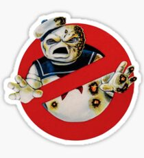 Bustin' Ghosts : The Marshmallow Sticker