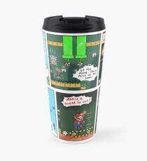 Comic Strip - Mario's Moving Melody Travel Mug