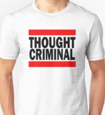 Thought Criminal - White Background T-Shirt
