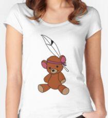 Neverland Bear! Women's Fitted Scoop T-Shirt