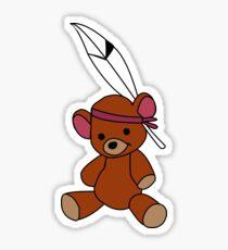 Neverland Bear! Sticker