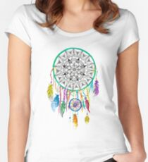 Dreamcatcher Women's Fitted Scoop T-Shirt