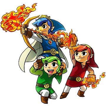 The Legend Of Zelda by Zuniga